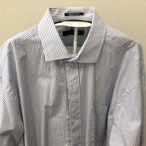 Tommy Hilfiger Wrinkle Res. Stretch Shirt 17-17.5